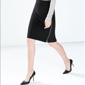 Zara Dresses & Skirts - 🆕 Zara black Pencil Skirt