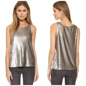 Tops - Cupcakes Cashmere Sequin Miles Tank