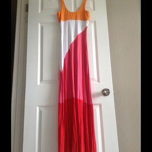 BeBe long maxi dress