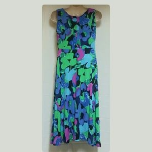 Perceptions Dresses - *HOST PIC* Perceptions Blue Purple Floral Dress