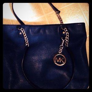 Navy blue Authentic  Michael Kors purse
