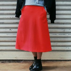 A-line midi skirt by COS