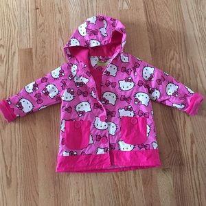 Western Chief Other - Hello kitty fleece raincoat