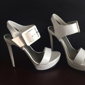 G by Guess Shoes - White sandals