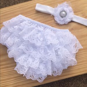 Other - 🎀 Lace Ruffle Bloomer