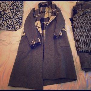 Authentic Original Vintage Style Jackets & Blazers - Vintage wool long coat