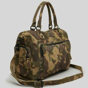 Liebeskind Handbags - Liebeskind Camo Laptop Satchel Crossbody Bag