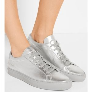 Common Projects Shoes - NWT- common projects silver sneakers