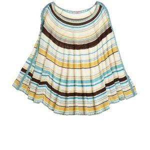 Calypso St. Barth Sweaters - Calypso St.Barth Silk Sweater Poncho