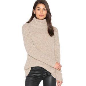 Ayni turtleneck sweater. Beige. Size small.