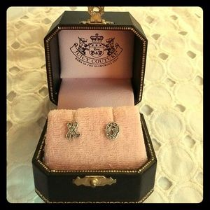 🆕Juicy Couture XO Stud Earrings NEW