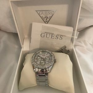 Mother of Pearl Guess Watch