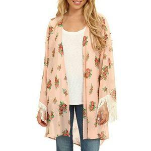 Gabriella Rocha Jackets & Blazers - Gabriella Rocha Lucy floral print kimono, SM