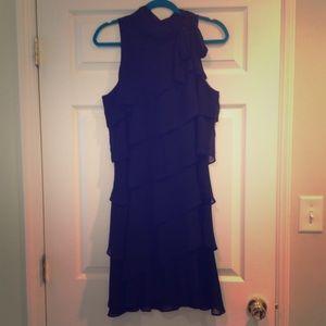 WHBM Black Sleeveless Dress