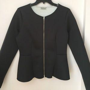Necessary Clothing Jackets & Blazers - Necessary Clothing Peplum Blazer