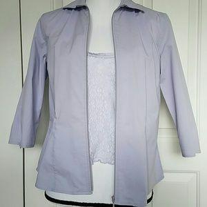 Classiques Entier Blazer/Top Lavender Size Med