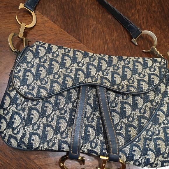 700a9d5ac937 Dior Handbags - Vintage Dior saddle bag