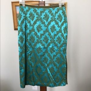 Oilily Dresses & Skirts - Oilily Jacquard Pencil Skirt size 38 (8 US)