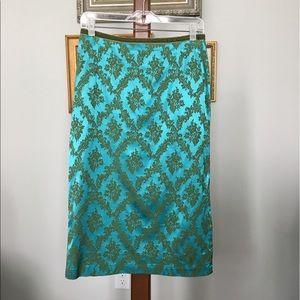 Oilily Dresses & Skirts - Oilily Jacquard Pencil Skirt size 38 (8 US)
