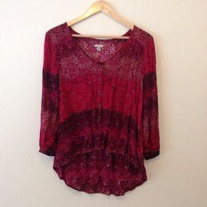 Ecote Tops - Vibrant beautiful blouse