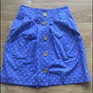 UO Periwinkle Blue Skirt