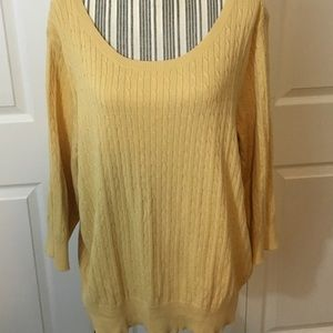 Lane Bryant Sweaters - Lane Bryant Cable Knit Sweater