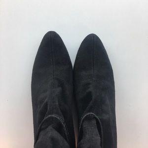 Donald J. Pliner Shoes - Donald J Pliner Suede Cut Out Wedge Boots