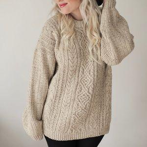 Sweaters - Chunky Taupe Sweater