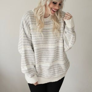 Sweaters - Vintage oversized chunky sweater