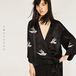 Zara Jackets & Blazers - 🆕 Zara Woman Kimono top