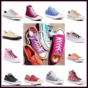 Converse Shoes - CONVERSE SNEAKERS Stylish Hi Tops & Lo Profiles