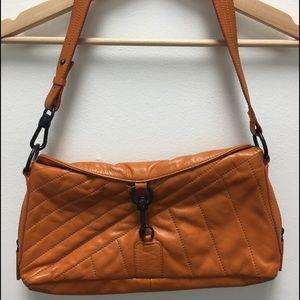 Francesco Biasia Handbags - Francesco Biasia Orange Leather purse