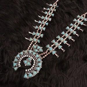 NEW squash blossom necklace