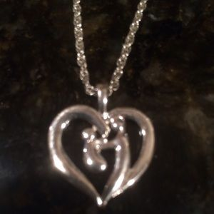 Jewelry - NEW! Mother and Child Pendant Necklace