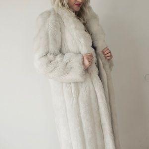 Jackets & Blazers - Long Faux Fur Coat