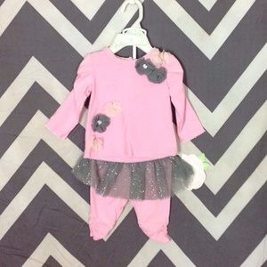 Nannette Other - Pink Set NWT - 0-3 Months