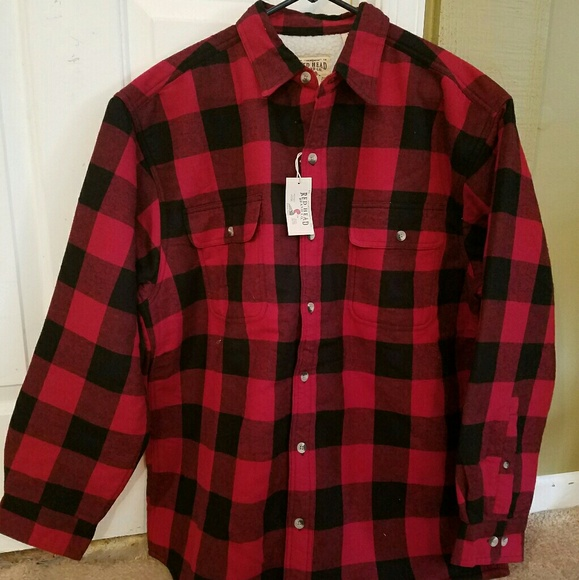 Redhead flannel shirts