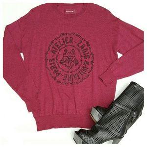 Zadig & Voltaire Sweaters - Zadig & Voltaire Kansas Bis Sweater