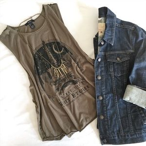 Forever 21 Tops - Eiffel Tower Tank