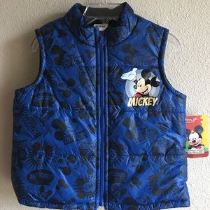 Disney Other - Disney Mickey mouse Vest  New With Tag Size 2T