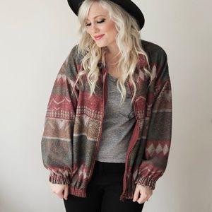 Jackets & Blazers - Aztec retro jacket