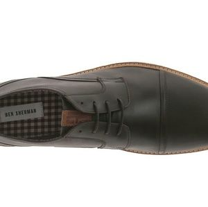 Ben Sherman Other - Ben Sherman Leon Black Captoe Shoe