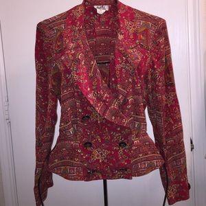 Hermes Tops - Vintage Hermes silk blouse size 38