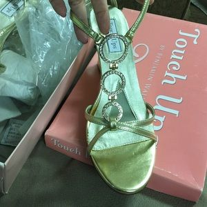 Shoes - New Touch Ups gold sandals