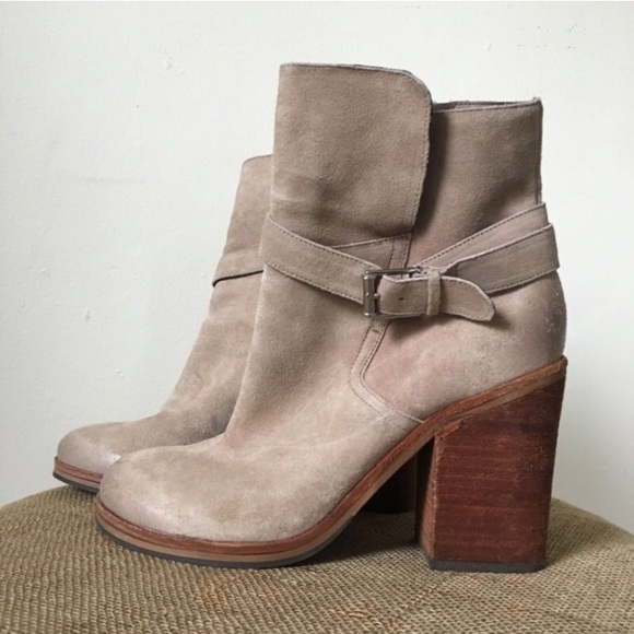 ca9daea7c5a3 Sam Edelman Perry Beige Suede Ankle Boots 8.5. M 5893dcafc6c7956ddb01418a