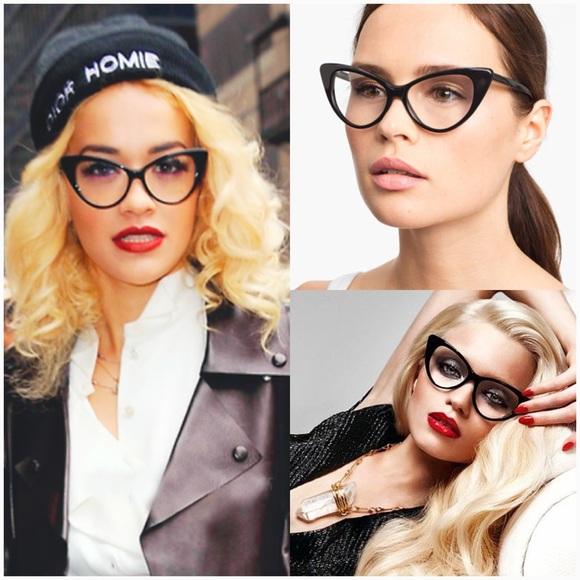 3fe35c93ce9a Tom Ford Nikita cateye black sunglasses   eyewear.  M 5893dd465a49d0da4b014c44