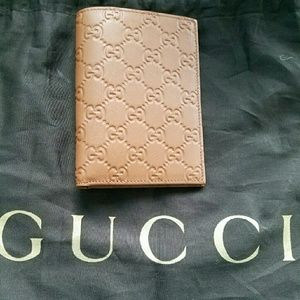 Gucci Other - BRAND  NEW AUTHENTIC GUCCI LEATHER passport WALLET