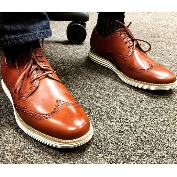 2dae57c309662 Cole Haan Shoes | Original Grand Long Wingtip Oxford | Poshmark