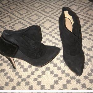 LAMB super sexy booties suede leather platform