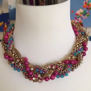 Jewelry - Multi chain, bead, string, everything! #statement